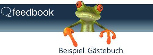Feedbook - Demo Gästebuch